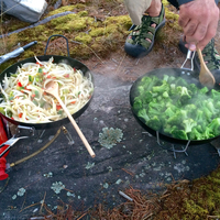 Formation cuisine en plein air
