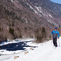 Découverte du ski nordique au Parc national de la Jacques-Cartier