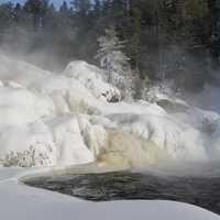 L'hiver au Parc régional des Chutes Monte-à-Peine-et-des-Dalles