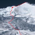 Huascaran voie d'ascension