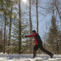 winter activity in St-Donat